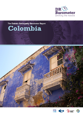 Cover page for Colombia Study Report. For accessible PDF version of full report click the image.