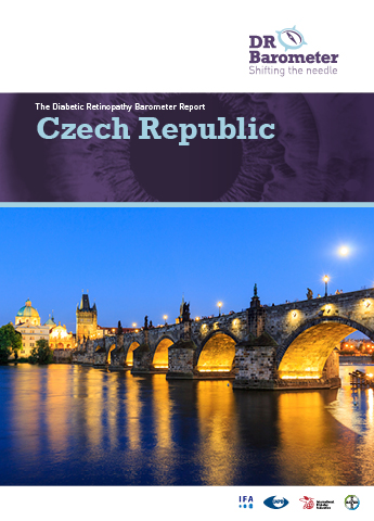 Cover page for Czech Republic Study Report. For accessible PDF version of full report click the image.