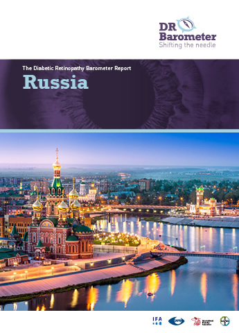 Cover page for Russia Study Report. For accessible PDF version of full report click the image