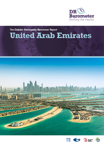Cover page for United Arab Emirates Study Report. For accessible PDF version of full report click the image.